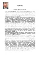 Bulletin municipal 2021 Editorial